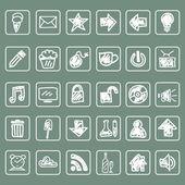 Drawing icon set1 — 图库矢量图片
