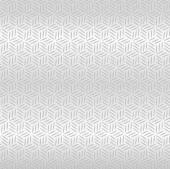 Abstract Silver metallic seamless diamond pattern background — Stock Vector