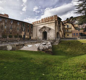 Sun Gate , Palestrina, Italy — Stock Photo