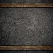 Wood and black concrete background — ストック写真