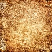 Grunge golden wall background or texture — Stock fotografie
