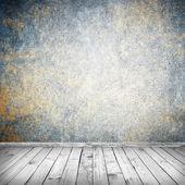 Empty white interior background — Stock Photo