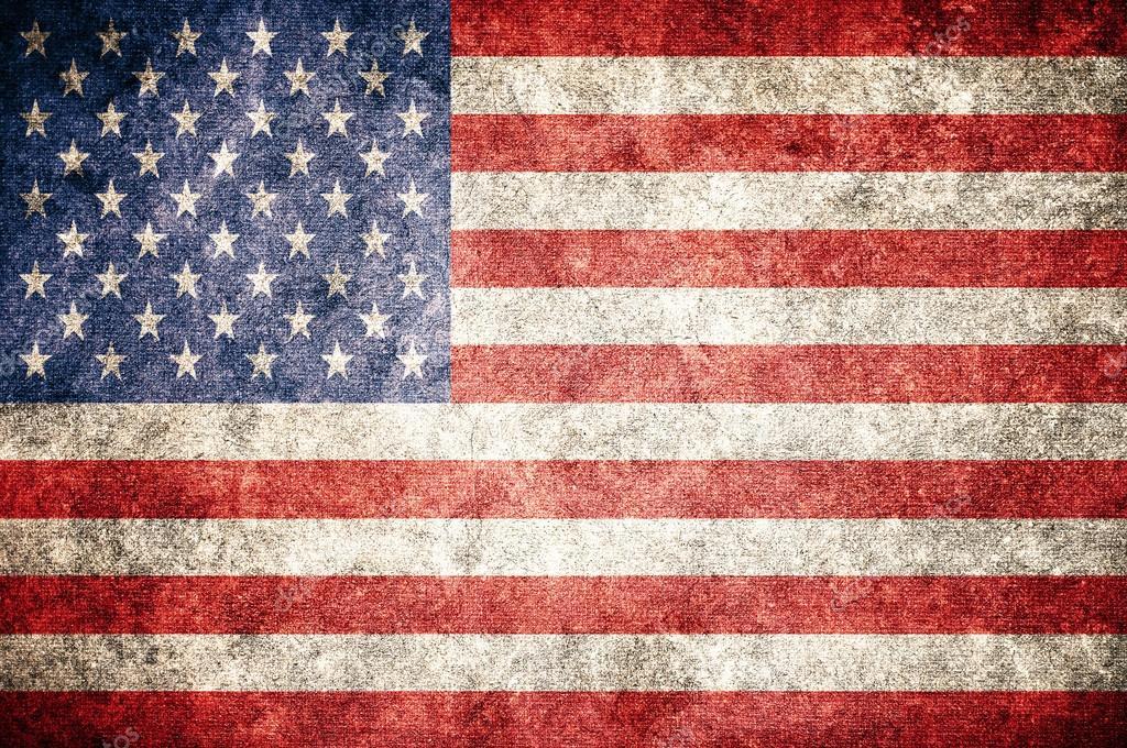 Drapeau des usa sur le mur tats unis d 39 am rique photo 63339467 - Drapeau de l amerique ...