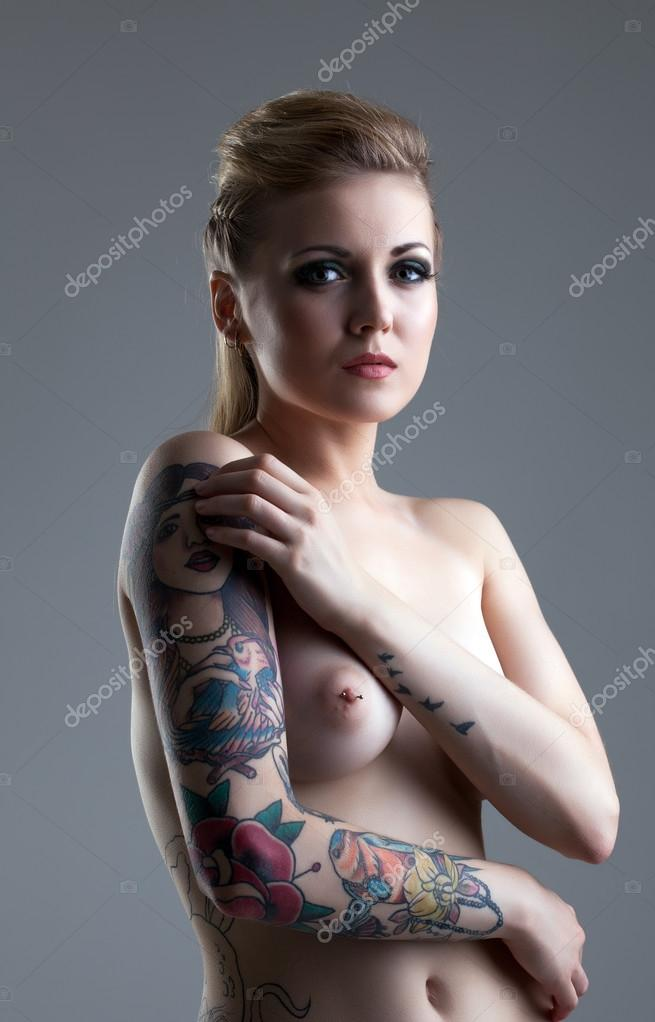 Nude With Pierced Nipples 50