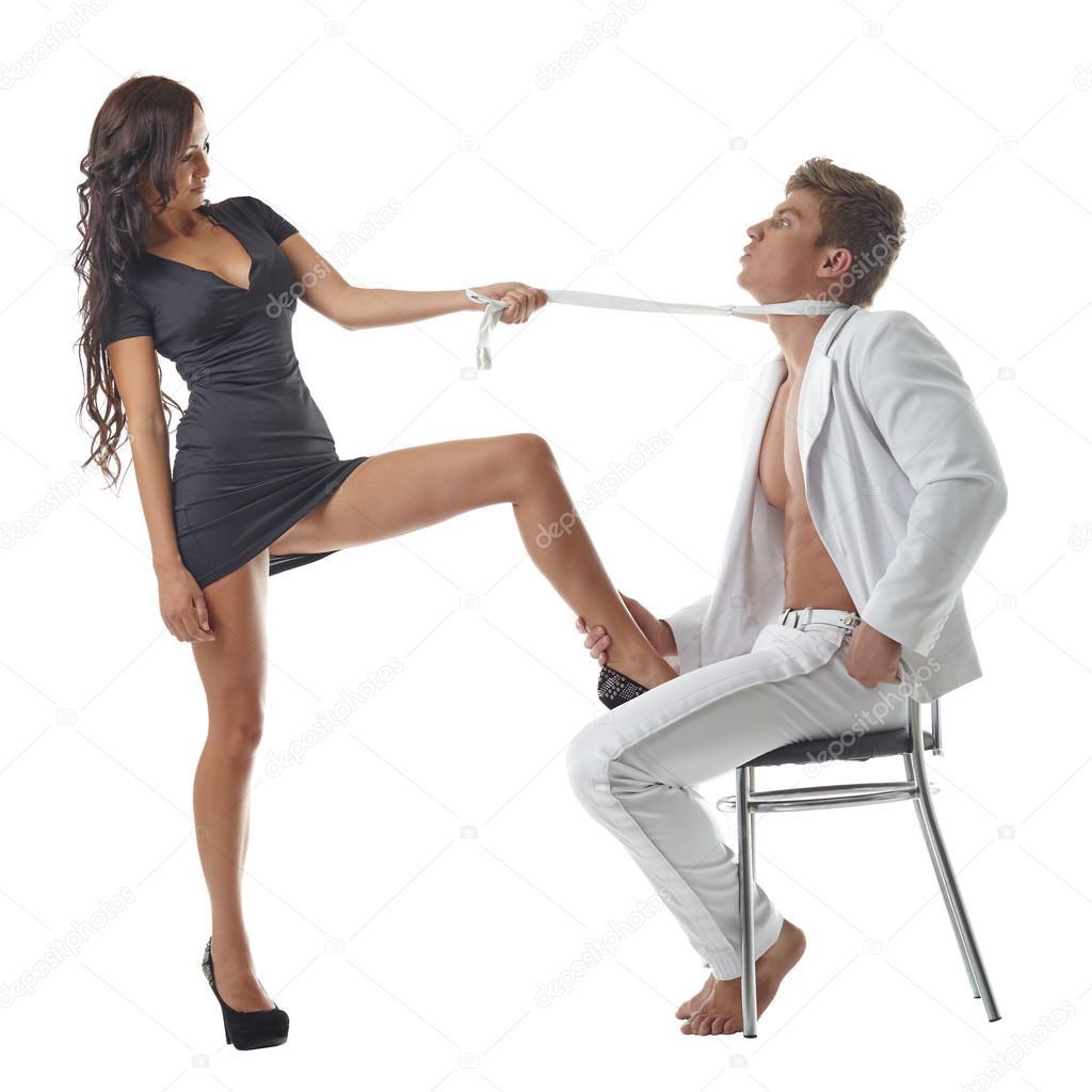 Женщина поднявшая руку на своего мужчину 204