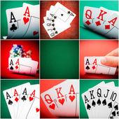 Set in casino — Stock Photo