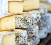 Traditional French cheese — Stock Photo