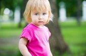 Child at playground — Stock Photo