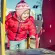 Baby playing at the playground — Stock Photo #59321291