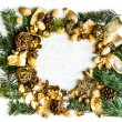 Background with Christmas decorations — Stock Photo #59714787