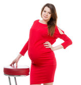 Pregnant girl — Stock Photo