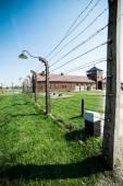 Birkenau Concentration Camp — Stock Photo