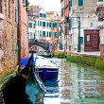 Venetian water canal — Stock Photo #60473605