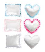 White pillows — Stock Photo
