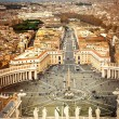 View from the St. Peters Cathedral — Stock Photo #61988655