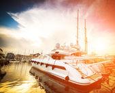 Yacht port — Stock Photo