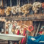 Place repair Venetian gondolas — Stock Photo #66124401
