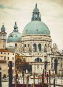 Basilica Santa Maria della Salute in Venice — Stock Photo