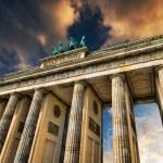 Brandenburg Gate in Berlin — Stock Photo #67169525