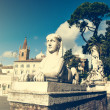 Piazza del Popolo — Stock Photo #69723643