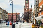Gdansk, Long Market. — Stock Photo