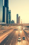 Street in Dubai — Stock Photo