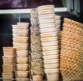 Ice-cream cones — Stock Photo
