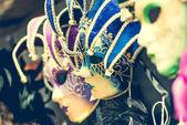 Venetian carnival masks — Stock Photo