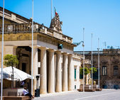 National Museum of Archaeology in Valletta — Stock Photo