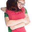 Close up Young Couple Embracing Each Other — Stock Photo #69034403