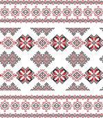 Seamless ethnic pattern. — Stock Vector