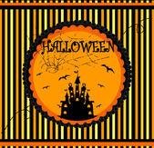 Halloween vector card — Stock Vector