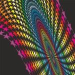 abstrakten bunten Sternen — Stockvektor  #51933531