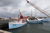 Fishing boats Bagenkop — Stock Photo