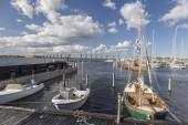 Barcos en el puerto — Foto de Stock