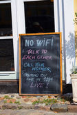 No WiFi — Foto de Stock