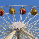 Gondolas on the Ferris Wheel — Stock Photo #59285201