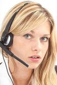 Headset close — Foto Stock