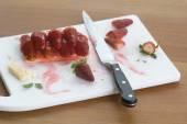 Strawberry Shortcake — Stock Photo