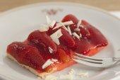 Strawberry cuts — Stock Photo