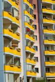 Balcony rows — Stock Photo