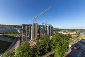 Общая строительная площадь Судоподъемник — Стоковое фото