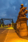 Statue of Glienicke Bridge — Stock Photo
