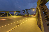 Glienicke Bridge sideways — Stock Photo