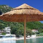Umbrella on beach — Stock Photo #65683119