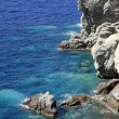 Rocky coastline of Crete Island — Stock Photo #65693171
