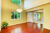 Empty house interior. Foyer with high ceiling — Stock Photo