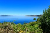 Steilacoom beach park. Washington state — 图库照片