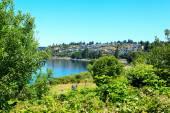 Steilacoom beach park. Washington state — Foto Stock