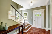 Entrance hallway with staircase — Stock Photo